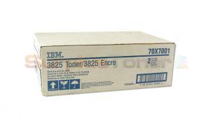 IBM 3825 TONER CART BLACK (70X7001)