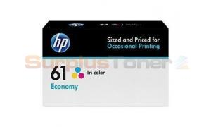 HP NO 61 ECONOMY INK CART TRICOLOR (B3B08AN)