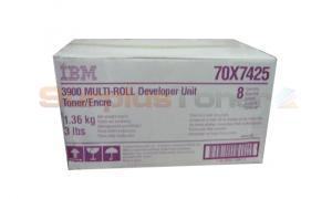 IBM 4000 TONER MULTI-ROLL PURPLE (70X7425)