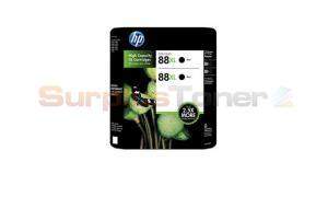 HP NO 88XL INKJET PRINT CARTRIDGE BLACK TWIN-PACK (CC605BN)