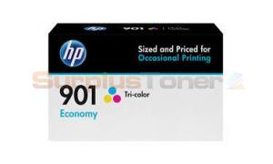 HP NO 901 ECONOMY INK CARTRIDGE TRICOLOR (B3B10AN)