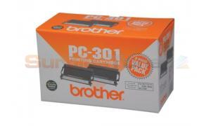 BROTHER PC-301 PRINTING CARTRIDGE TWO-PACK (PC-3012PK)