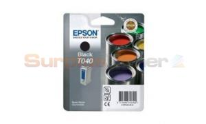 EPSON STYLUS C62 INK CARTRIDGE BLACK (C13T04014020)