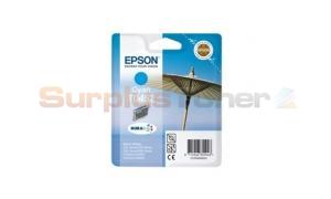 EPSON STYLUS C84 INK CARTRIDGE CYAN (C13T04524020)