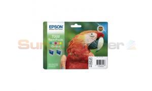 EPSON STYLUS PHOTO 790 INK CTG COLOUR TWIN PACK (C13T00840320)