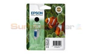 EPSON STYLUS PHOTO 810 INK CARTRIDGE BLACK (C13T02640120)