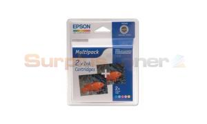 EPSON STYLUS PHOTO 810 INK CTG CMY LC LM TWIN PACK (C13T027403)