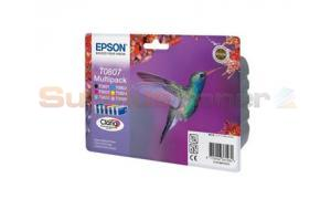 EPSON STYLUS PHOTO R265 INK CTG MULTIPACK CMYK LC LM (C13T08074021)