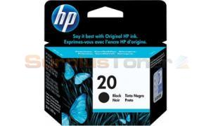 HP 20 LARGE INK CARTRIDGE BLACK (C6614DL)