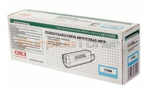 OKIDATA C5450 TONER CARTRIDGE CYAN HY (42127494)