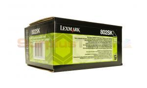 LEXMARK CX510 RP TONER CARTRIDGE BLACK 2.5K (80C2SK0)