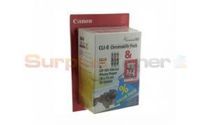 CANON PIXMA CLI-8 INK TANK CMY/PHOTO PAPER (0621B015[AG])