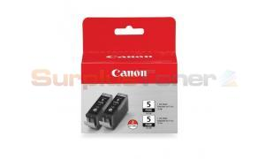 CANON PGI-5BK INK TANK BLACK TWIN PACK (0628B009[AB])