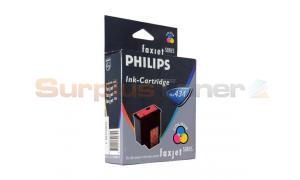 PHILIPS FAXJET 355 COLOR INK CARTRIDGE (PFA434)