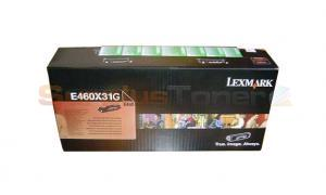 LEXMARK E460 CORPORATE TONER CARTRIDGE XHY (E460X31G)
