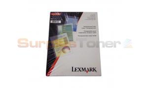 LEXMARK C710 TRANSPARENCIES (12A5940)
