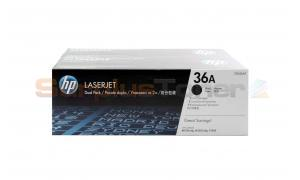 HP NO 36A PRINT CARTRIDGE DUAL PACK (CB436AF)