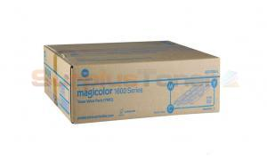 KONICA MINOLTA MAGICOLOR 1600 TONER CMY HY VALUE KIT (A0V30NH)