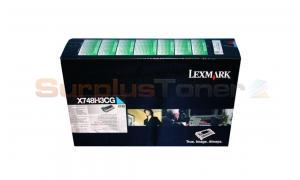 LEXMARK X748DE CORPORATE TONER CARTRIDGE CYAN (X748H3CG)
