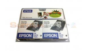 EPSON STYLUS COLOR 880 INK CARTRIDGES BLACK TWIN PACK (T019201-D1)