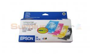 EPSON STYLUS C64 INK CARTRIDGES BLACK AND COLOR MULTIPACK (T044120-BCD)