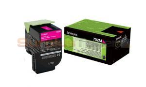 LEXMARK CS410 RP TONER CARTRIDGE MAGENTA 1K (70C20M0)