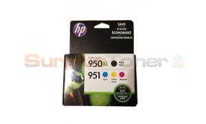 HP 950XL/951 INK CTG BLACK/COLOR MULTIPACK (C2P01FN)