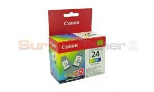 CANON BCI-24C INK TANK COLOR TWIN PACK (6882A009[AF])