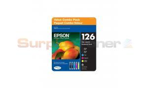 EPSON 126 INK BLACK/COLOR COMBO PACK (T1261-5-SV)