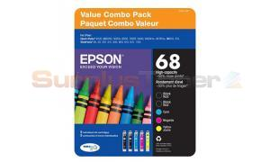 EPSON 68 INK CTG COLOR MULTIPACK (T0681-5-SV)
