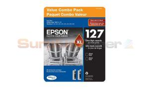 EPSON 127XL INK CTG BLACK COMBO PACK XHY (T127120-SVH)