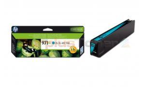 HP NO 971XL OFFICEJET INK CARTRIDGE CYAN (CN626AE)