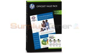 HP NO 933XL INK CART CMY VALUE PACK (CR711AE)