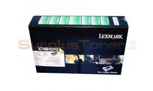 LEXMARK X748 CORPORATE TONER CARTRIDGE YELLOW (X748H3YG)