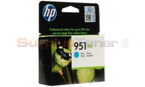 HP OFFICEJET NO 951XL INK CARTRIDGE CYAN (CN046AE#301)