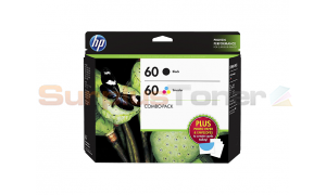 HP NO 60 INK CART BLACK/COLOR COMBO PACK (D8J23FN)