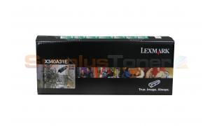 LEXMARK X340 X342 CORPORATE TONER CARTRIDGE 2.5K (X340A31E)