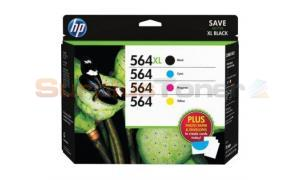 HP 564XL/564 INK CMYK & PHOTO PAPER (D8J67FN)