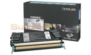LEXMARK C520 C530 TONER CARTRIDGE BLACK RP (C5200KS)