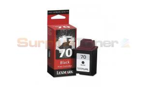 LEXMARK NO. 70 INK CARTRIDGE BLACK (12AX970BL)