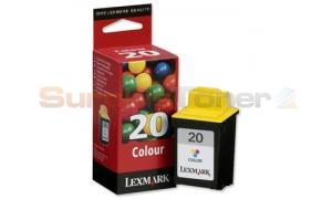 LEXMARK 20 INK CARTRIDGE COLOR (15MX120B)