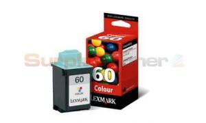 LEXMARK NO. 60 INK CARTRIDGE COLOR (17G0060BL)