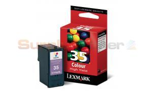 LEXMARK 35 INK CARTRIDGE COLOR HY (18C0035BL)