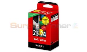 LEXMARK 23/24 INK CTG BLACK/COLOR RP (18C1419BL)