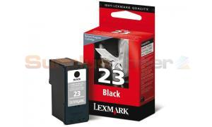LEXMARK 23 INK CARTRIDGE BLACK RP (18C1523BL)