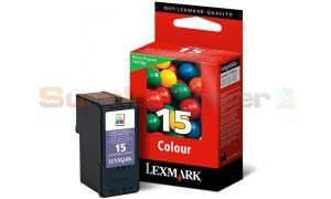 LEXMARK 15 INK CARTRIDGE COLOR RP (18C2110BL)