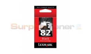 LEXMARK NO 82 INK CARTRIDGE BLACK (18L0032B)