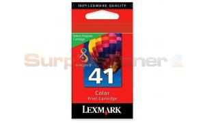 LEXMARK 41 INK CARTRIDGE COLOR RP (18Y0141BL)