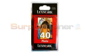 LEXMARK NO. 40 INK CARTRIDGE PHOTO (18Y0340BL)