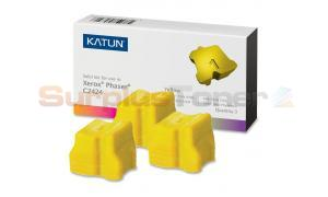 XEROX WORKCENTRE C2424 SOLID INK YELLOW KATUN (37977)